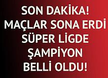 """Son Dakika! Süper Lig'de Şampiyon Belli Oldu! 2020-2021 Sezonunda """"Şampiyon Beşiktaş"""""""