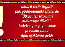 Terör Örgütü PKK Sitelerinde 'Faşistler, Iraklı Kürdü Öldüresiye Dövdü' Şeklindeki Provakasyonla İlgili Açıklama Geldi