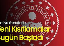 Türkiye Genelinde Yeni Kısıtlamalar Başladı! Tam Kapanma Sonuna Kadar Sürecek