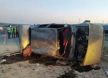 Ahlat'ta trafik kazası: 1 yaralı