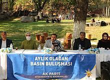 AK Parti Diyarbakır İl Başkanı Aydın, gazetecilerle buluştu