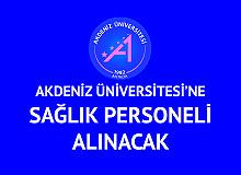 Akdeniz Üniversitesi'ne Hemşire, Röntgen Teknisyeni ve Tıbbi Sekreter Alımı Yapılacak