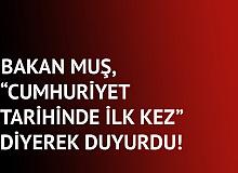 Bakan Duyurdu! Türkiye'de Bugüne Kadar Yapılan En Büyük Çaplı Operasyon