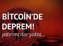 Bitcoin'de Deprem! Yatırımcılar Şokta…