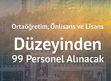 Dicle Üniversitesi'ne 99 Personel Alınacak