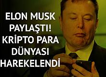 Elon Musk'ın Kripto Para Paylaşımı Sonrasında Piyasa Yeniden Hareketlendi