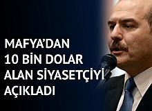 İçişleri Bakanı Soylu, Sedat Peker'den 10 Bin Dolar Alan Siyasetçiyi Açıkladı