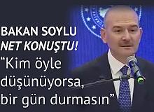 İçişleri Bakanı Süleyman Soylu: Polislik , Maaş Mesleği Değildir, Kim Öyle Düşünüyorsa 1 Gün Durmasın