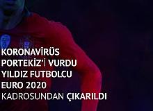 Koronavirüse Yakalanan Portekizli Yıldız Futbolcu EURO 2020 Kadrosundan Çıkarıldı