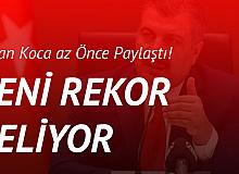 Sağlık Bakanı Fahrettin Koca Açıkladı: Yeni Rekor Geliyor!