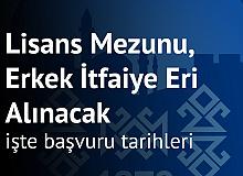 Sivas Sarkışla Belediyesi'ne Lisans Mezunu , Erkek İtfaiye Eri Alımı Yapılacak