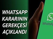 Soruşturma Başlatılmıştı! WhatsApp Kararının gerekçesi Açıklandı