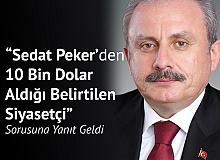 """TBMM Başkanı'ndan Açıklama """"Sedat Peker'den 10 Bin Dolar Alan Siyasetçi Şu An Milletvekili Değil"""""""