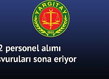 Yargıtay 212 Personel Alımı için Başvurular Sona Eriyor