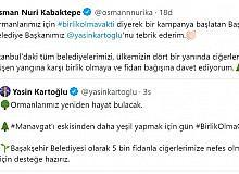 AK Parti İstanbul İl Başkanı Kabaktepe'den orman yangınlarına karşı anlamlı çağrı
