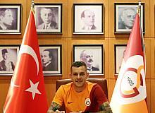"Alexandru Cicaldau: ""Galatasaray'a imza attığım için çok mutluyum"""