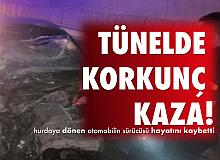 Amasya'da Korkunç Kaza! Sürücü Feci Şekilde Can Verdi...