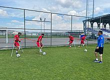 Ampute Futbol Milli Takımı Afyonkarahisar'da kampa girdi