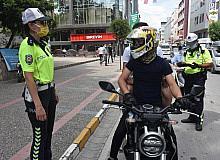 Balıkesir polisinden motosiklet denetimi