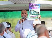 Başkan Sandıkçı, Canik'teki muhtarlarla yeni yatırımları gezdi