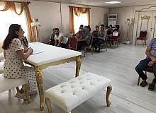 Bismil'in evlilik okuluna yoğun ilgi