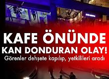 Bursa'da Kan Donduran Olay! Kanlar içerisinde Kafenin Önüne Yığıldılar! 1 Ölü, 1 Yaralı