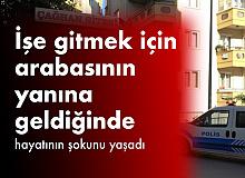 Bursa'da ilginç olay: İşe gitmek için arabasının yanına gitti, arabasında tanımadığı birinin uyuduğunu gördü