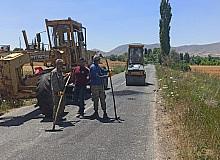 Büyükşehir'den güvenli bayram için yollarda bakım çalışması