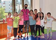 Cimnastik kursu minik sporcular tarafından yoğun ilgi görüyor