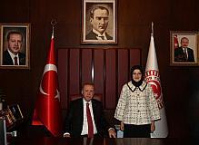 Cumhurbaşkanı Erdoğan'dan Akyurt'taki fuar alanına destek