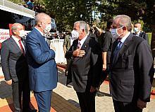 Cumhurbaşkanı Erdoğan'dan KKTC'ye Cumhurbaşkanlığı Külliyesi müjdesi