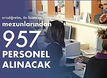 Devlete 957 Sözleşmeli Personel Alımı Yapılacak! Hangi Kurum Kaç Personel Alacak? İşte Detaylar…