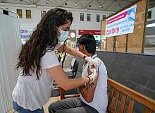 DİŞTİ'de randevusuz yerinde aşı uygulaması