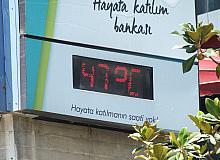 Bir İlimiz Sıcaktan Adeta Kavruldu! Termometreler 47 Dereceyi Gösterdi