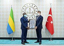 Gabon Cumhuriyeti ile eğitim alanında iş birliği