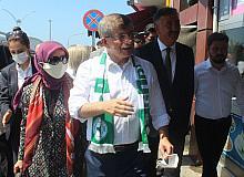Gelecek Partisi Genel Başkanı Ahmet Davutoğlu Giresun'da