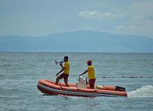 Gemlik Belediyesi halk plajında özel hizmet