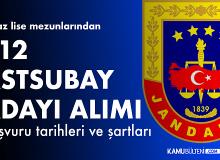 Jandarmaya Astsubay Adayı 712 Erkek Öğrenci Alımı için Kimler Başvuru Yapabilir?