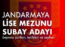 Jandarma'ya 200 Subay Adayı Öğrenci Alımı için YKS Şartlarına Dikkat!