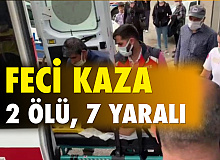 Kars'ta feci kaza: 2 ölü, 7 yaralı
