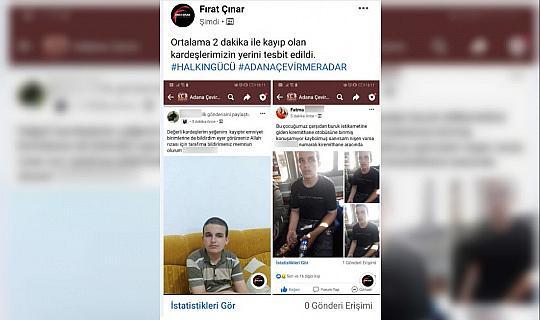 Kayıp çocuk sosyal medya sayesinde 5 dakikada bulundu