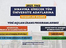 Kayseri Üniversitesi'nde yeni açılan lisans programları öğrenci alımına başlıyor