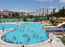 Keçiören'deki aqua parklar eğlencenin merkezi
