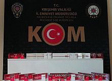 Kırşehir'de Kaçak Sigara Operasyonu