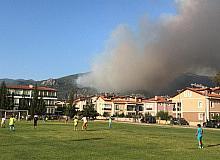 Köyceğiz'de yangın devam ediyor, Dalaman'daki yangın söndürüldü