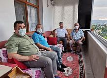 Kurban Bayramında şehit aileleri ve gazilere ziyaret