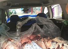 Kurban etleri bozulmasın diye bulduğu teknik görenleri hayrete düşürdü