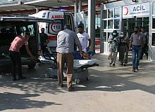 Kurban kesimi esnasında yaralanan 20 kişi hastanenin yolunu tuttu