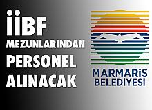 Marmaris Belediyesi'ne İİBF Mezunu Zabıta Memuru Alımı Yapılacak