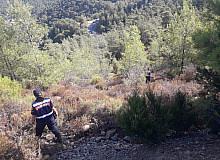 Marmaris'te yangınla ilgili vatandaşların şüphelendiği 2 kişi aranıyor